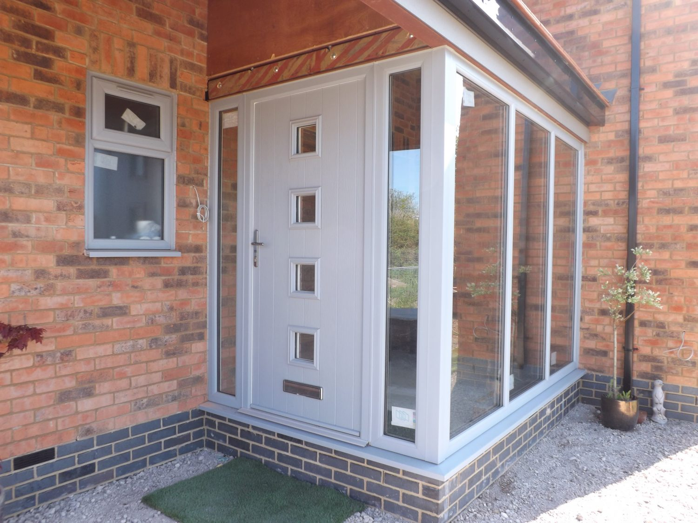 PVC door Modern Glazing