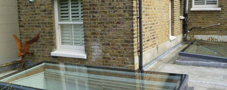 Flat Glass Roofs